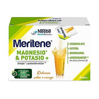 Meritene Magnesium and Potassium 20 packets