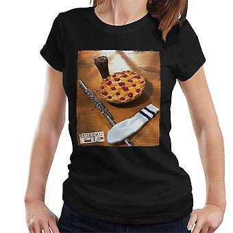 American Pie Flute Sock And Pie Women's T-Shirt