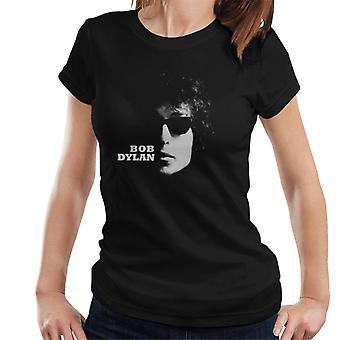Bob Dylan aurinko lasit Shot naisten T-paita