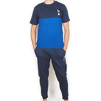 Tottenham Hotspur FC Officiel Football Gift Mens Premium Long Pyjamas Set