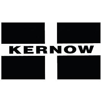 W4 Kernow Rectangle Sticker