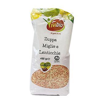 Millet and lentil soup 400 g