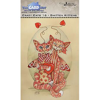The Card Hut Crazy Cats Smitten Kittens Clear Stamps