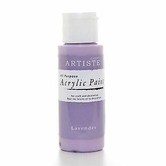 Peinture acrylique Docrafts (2oz) - Lavande (DOO 763225)