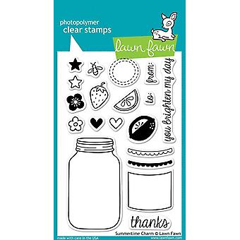 Lawn Fawn Clear Stamps - Summertime Charm