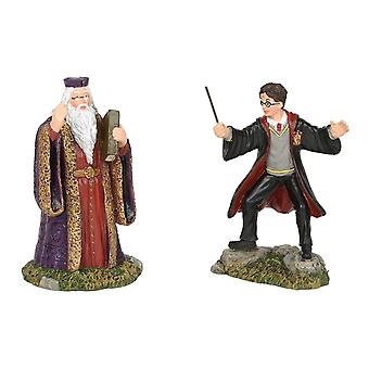 Harry Potter Harry And The Headmaster Figurine Collectible Statue