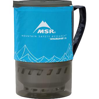 MSR WindBurner Accessory Pot 1.8L Blue (Gas Not Included) - Blue