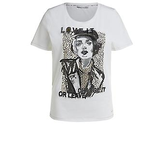 Oui Front Design Jersey T-Shirt