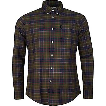 Barbour Tartan 6 Tailored Fit Checked Shirt