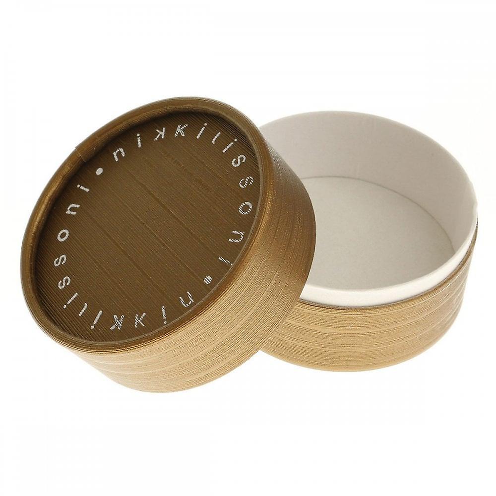 Nikki Lissoni Sparkling Fall Leaf Medium Gold Plated Coin C1153GM