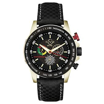 GV2 by Gevril Men's Scuderia 9912 Swiss Quartz Multi-function Chrono Date Watch