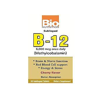 Bio Nutrition Inc B-12 Sublingual, 50 tabia