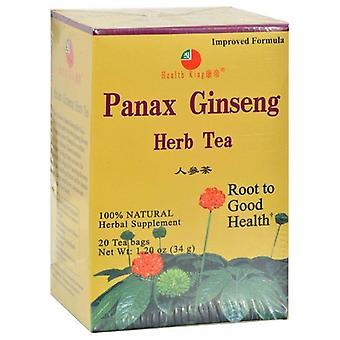 Zdraví Král Panax Ginseng čaj, 20bg