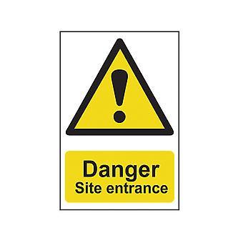 Scan Danger Entrée du site - PVC 400 x 600mm SCA4102