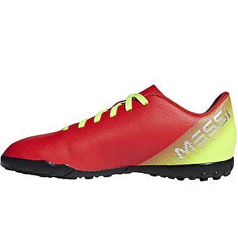 adidas Performance Boys Kids Nemeziz Messi 18.4 Turf Football Boots - Red