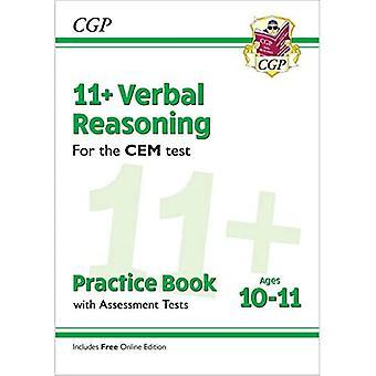 Novo 11 + livro de prática de raciocínio verbal CEM & testes de avaliação-idades 10-11 (com edição online)