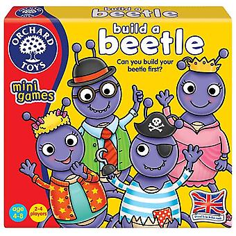 Brinquedos pomar constroem um mini jogo de besouro
