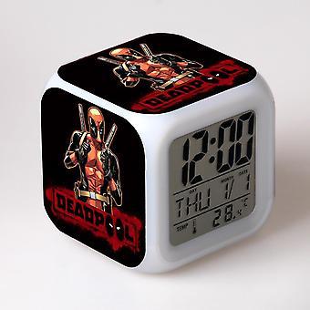 צבעוני רב תכליתי LED ילדים & apos;שעון מעורר -Piscina מורטה #13