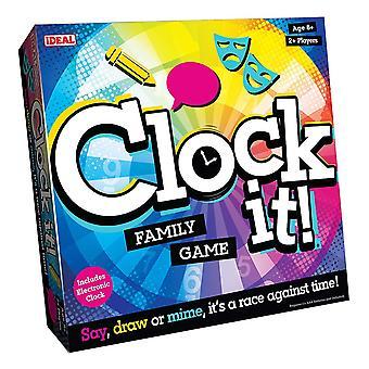 John Adams Clock It Family Game