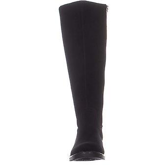 Aqua Colegiul Femei Elsa Închis Toe Knee High Fashion Boots