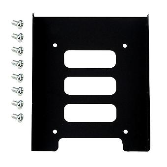 Metal Mounting Adapter Bracket Dock 8 Screws Hard Drive Holder For Pc Hard