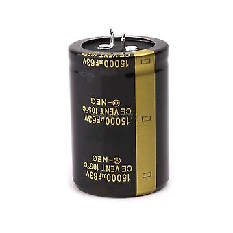 Electrolytic Capacitor Amplifier