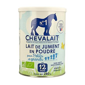 Organic horse milk powder 280 g of powder
