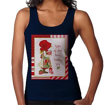 Holly Hobbie julegaver af kærlighed Bring Holiday Joy Kvinder's Vest