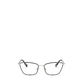 Miu Miu MU 52SV gafas de oro pálido / burdeos hembra