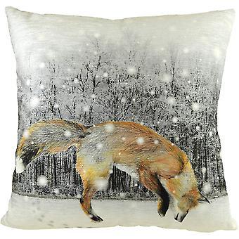 Evans Lichfield Fox Cushion Cover
