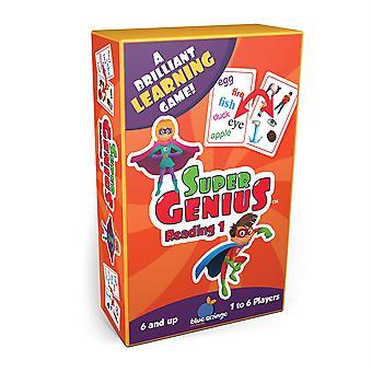Super Genius Reading 1 Flashcard Game