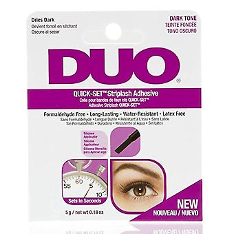 Ardell Professional Ardell Duo Quick-Set Strip Frans lim - Mörk