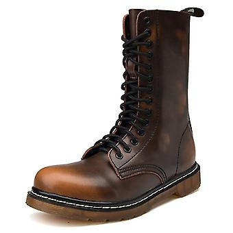Winter High-top, Combat Leather Casual, Military Boots