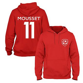 Lys Mousset 11 Sheffield United Style Spieler Fußball Hoodie