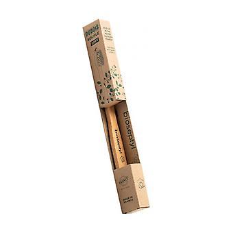 Adult wooden toothbrush-medium 1 unit