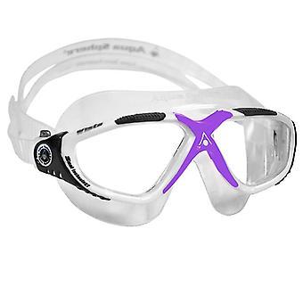 Aqua Sphere Vista Yüzme Gözlüğü Beyaz / Lavanta - Net Lens