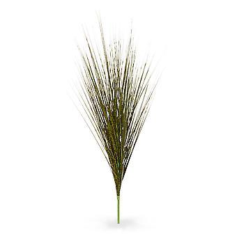 Bouquet erba zebra artificiale deluxe 85 cm verde-marrone