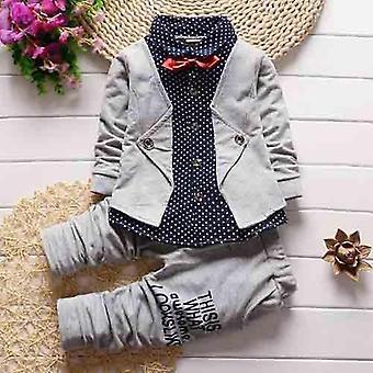 Infant Clothing Suit Spring Autumn Baby Sets Newborn Toddler Jacket Pants