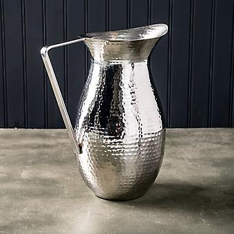 SS Hammered Pitcher