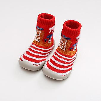 Baby Toddler Floor Shoes Sock, Non-slip Thickening Warm Rubber Soles Foot Socks