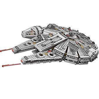 1381 Pcs Force Пробуждает совместимые тысячелетние модели falcon строительные блоки