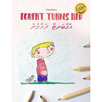 Egbert Turns Red/Waex Exosi - Children's Picture Book/Coloring Book En