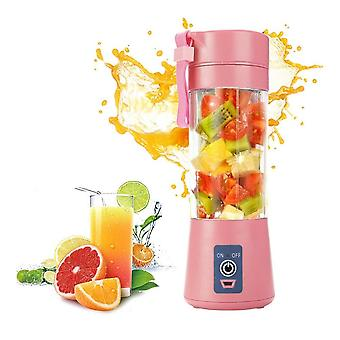 Portable Electric Fruit Juicer, Usb Rechargeable Smoothie Maker Blenders