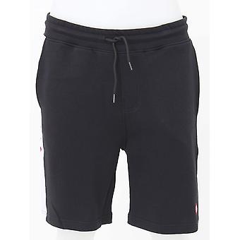 Pretty Green Tilby Sweat Shorts - Black