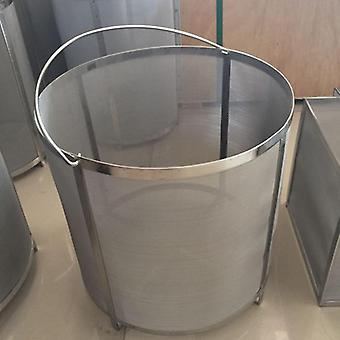 Filter Extra Large13.7x13.7inch Brewing Hopper Spider Strainer 304 Stainless