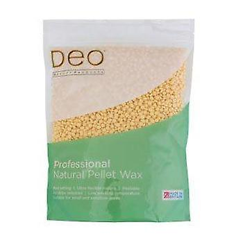 DEO Professional Natural Pellet Wax with Coconut Oil - Natural Ingredients 700g