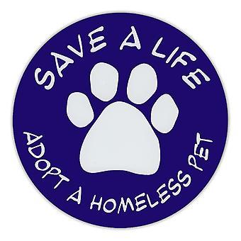 """المغناطيس، جولة، إنقاذ حياة، اعتماد الحيوانات الأليفة بلا مأوى، 4.75 """"قطرها"""