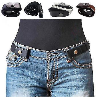 Opasok bez pracky pre šaty Jean Pants No Buckle Stretch Elastický pásový opasok pre ženy Muži Bez vydutia Žiadny problémový pásový opasok