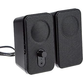 FengChun AmazonBasics - Computer-Lautsprecher fr Schreibtisch oder Laptop   AC-Betrieb (EU-Version)