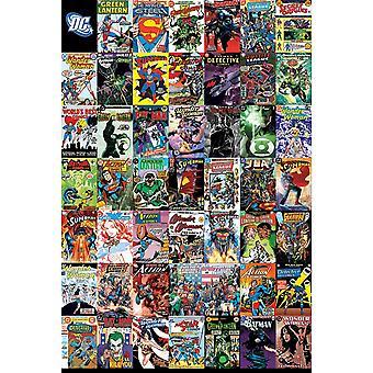 DC Comics Montage Juliste